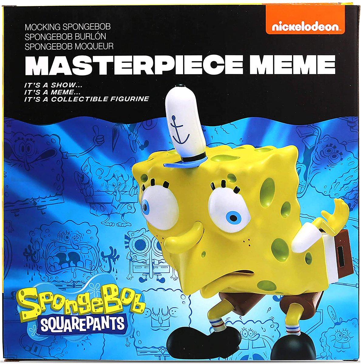 Mocking Spongebob Masterpiece Meme is $7.79 on Amazon 2