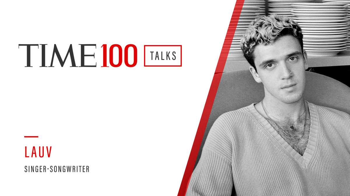 Tune in to #TIME100Talks for a chat and special performance by the one and only @lauvsongs 8/6 at 1pm EDT! Register here: https://t.co/yl1mRfQNaL https://t.co/lfCkCrL2ew