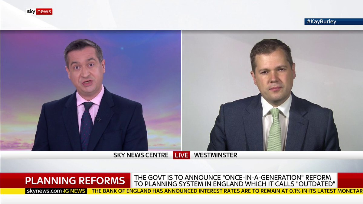 This year and next year will be very challenging for the industry. Housing Secretary @RobertJenrick says the UK should be building around 300,000 homes a year, but as a result of the pandemic building will be well down on 240,000. #KayBurley: trib.al/cao6HHJ