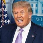 Image for the Tweet beginning: Sociale medier fjerner Trump-video med