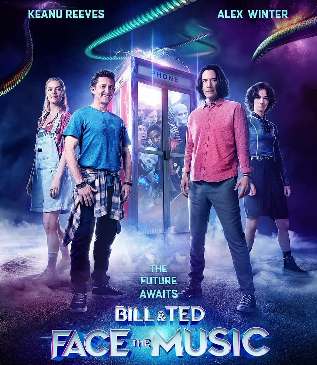 #KeanuReeves and #AlexWinter will be back with #BillandTed3 #Cinepolis #CinepolisIndiapic.twitter.com/f0UPfQVpK9