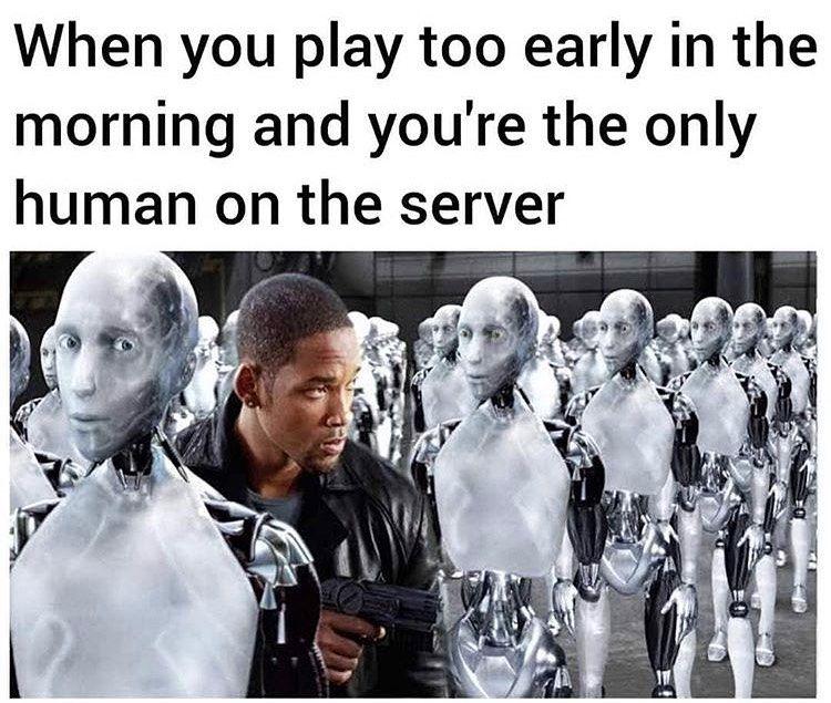 Early Morning Gamers #programmerhumor #gamersoftwitter #gamersunite #gamerslife #programmerlife #codinglife #programming #programmingmemes #codingmemes #computerscience #programmingjokes #computerengineering #workfromhomelife #gamerlife #gamermemes #gamersonly pic.twitter.com/bZqKQ0J4Uo