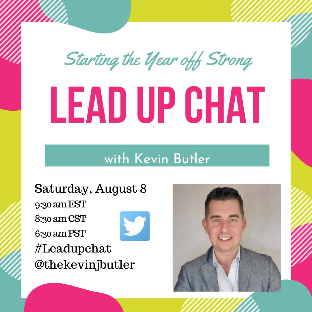 Join us Saturday morning for #leadupchat as @TheKevinJButler moderates the chat!