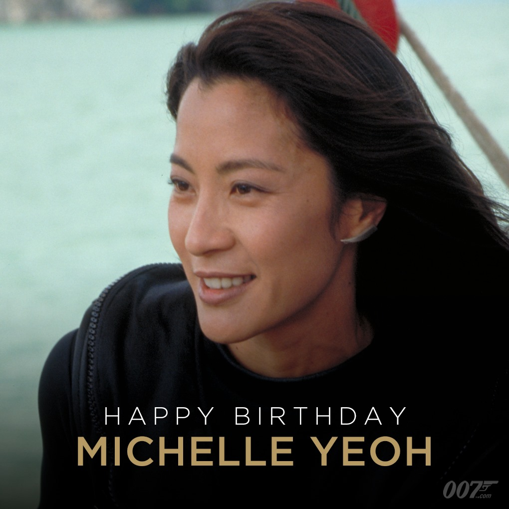 Don't get any ideas… just wish Happy Birthday to Michelle Yeoh, who played Wai Lin in TOMORROW NEVER DIES (1997). https://t.co/DSCMk2mJ1V