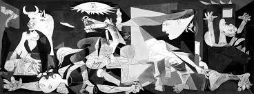 #Guernica es uno de los cuadros más importantes del #pintor Pablo Picasso y del siglo XX, tanto por su carácter #político como por su estilo, mezcla elementos cubistas y expresionistas que lo tornan único. #ObraDeArte del #Mundo #Pintores #Oleo https://t.co/hGusRiIT8r