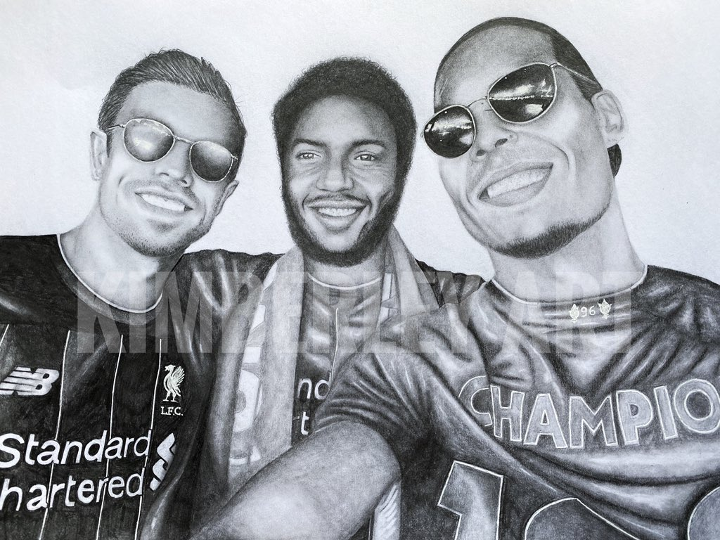 My Champions drawing! Please RT! 😁   Prints and Original available https://t.co/E8iE9couwJ https://t.co/6JMwHmaZkZ