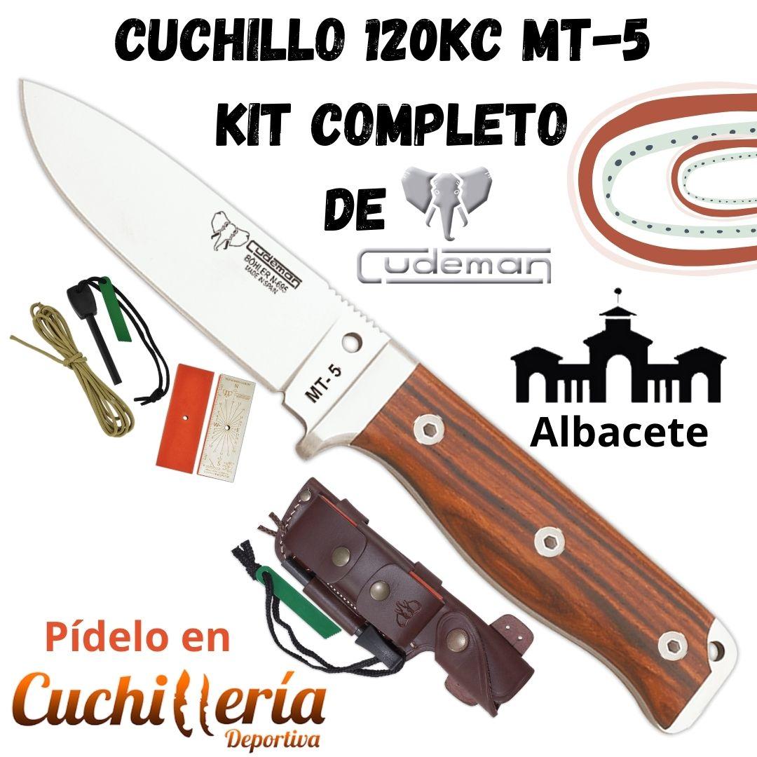 """Cuchillo 120KC MT-5 KIT COMPLETO"" de Cudeman . Llévalo en tus salidas! #cuchilleriadeportiva #airsoft #bushcraft #MilSim #supervivencia #follow #outdoor #camping #cuchillos #soldado #ejército #policia #seguridad #táctico #militar #botas  http://ow.ly/IXYQ50AMEIwpic.twitter.com/YuHkUVHHQK"