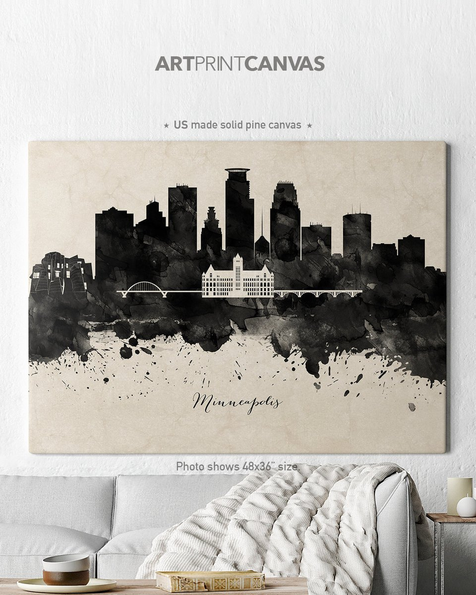 Excited to share the latest addition to my #etsy shop: Minneapolis Canvas, Minneapolis skyline canvas black white print, canvas wall art https://etsy.me/2PraLLN  #canvasart #canvasprint #wallartcanvas https://www.etsy.com/shop/ArtPrintCanvas …pic.twitter.com/an3cNngmXP