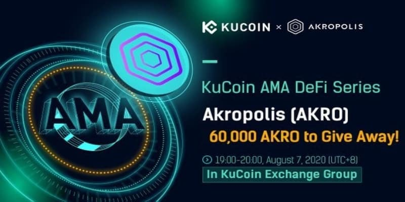 #Airdrop:Kucoin x Akropolis Airdrop Estimated value:N/A Referral: Yes Rate: (5/5)   Register an account on Kucoin 60,000 AKRO Already listed on CMC   Email   Claim your Airdrop:  https://freecoins24.io/kucoin-x-akropolis-airdrop/ …  #Airdrops #Crypto #Freemoney #BTC #Giveawaypic.twitter.com/hWerp1WcnN