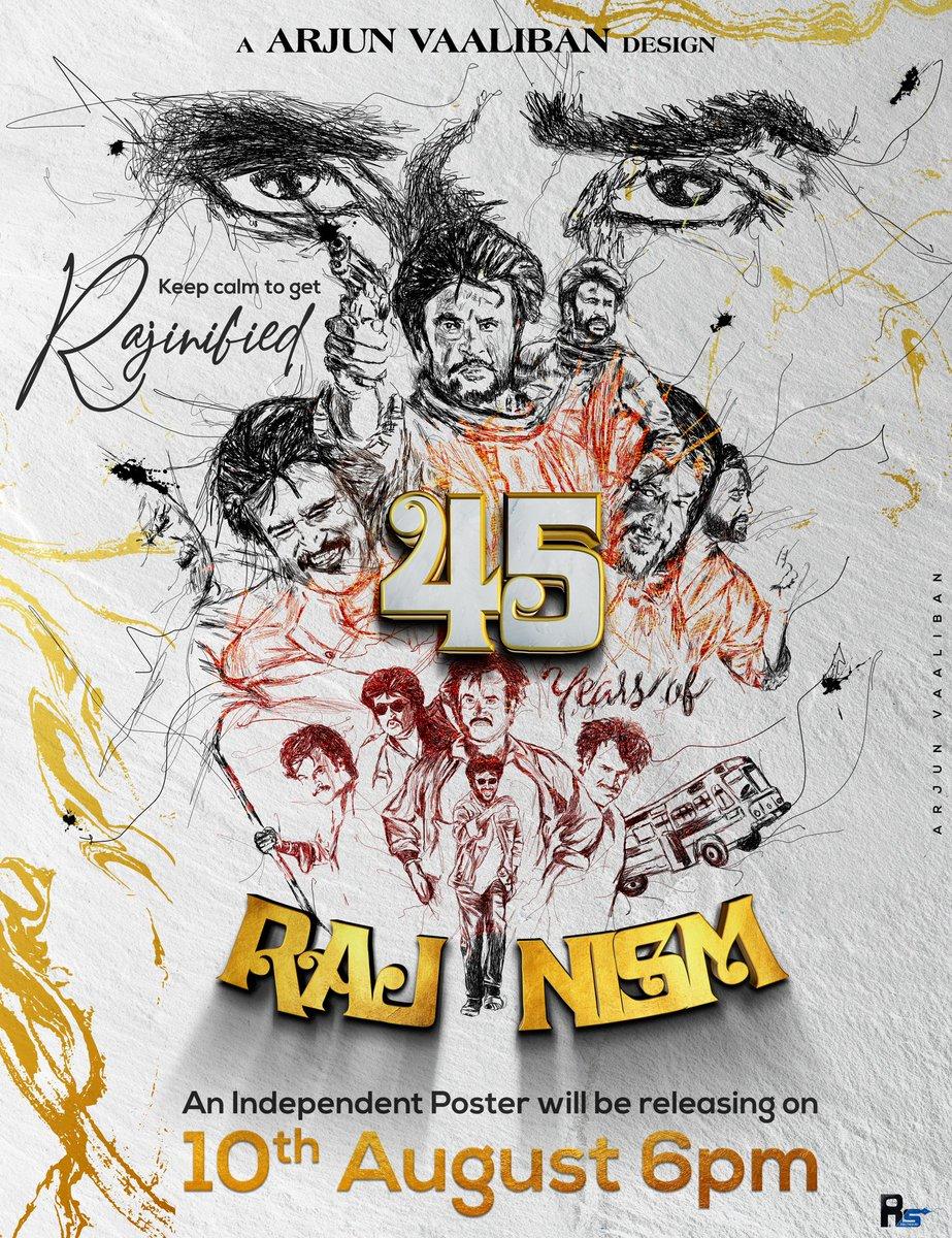 #45YearsOfRajinism  #Superstar #Thalaivar #MakkalThalaivar #Rajinikanthpic.twitter.com/fsjxF9ocGj