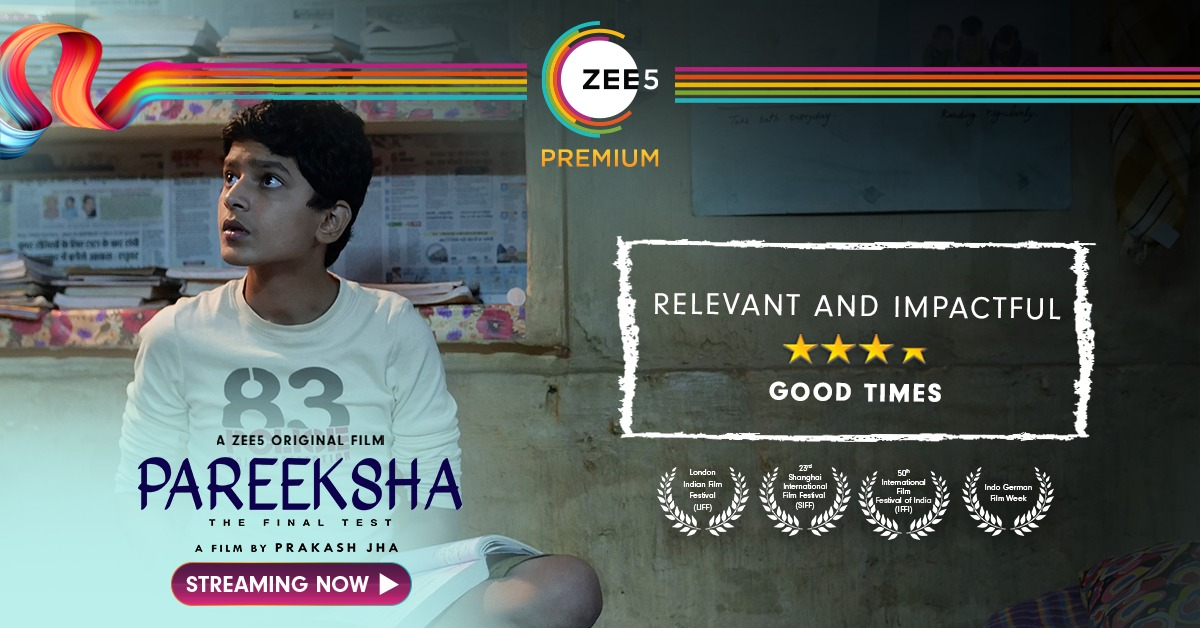 Your love has helped us pass the Final Test! Watch #PareekshaOnZEE5, Streaming Now. #SapneSachKrenge