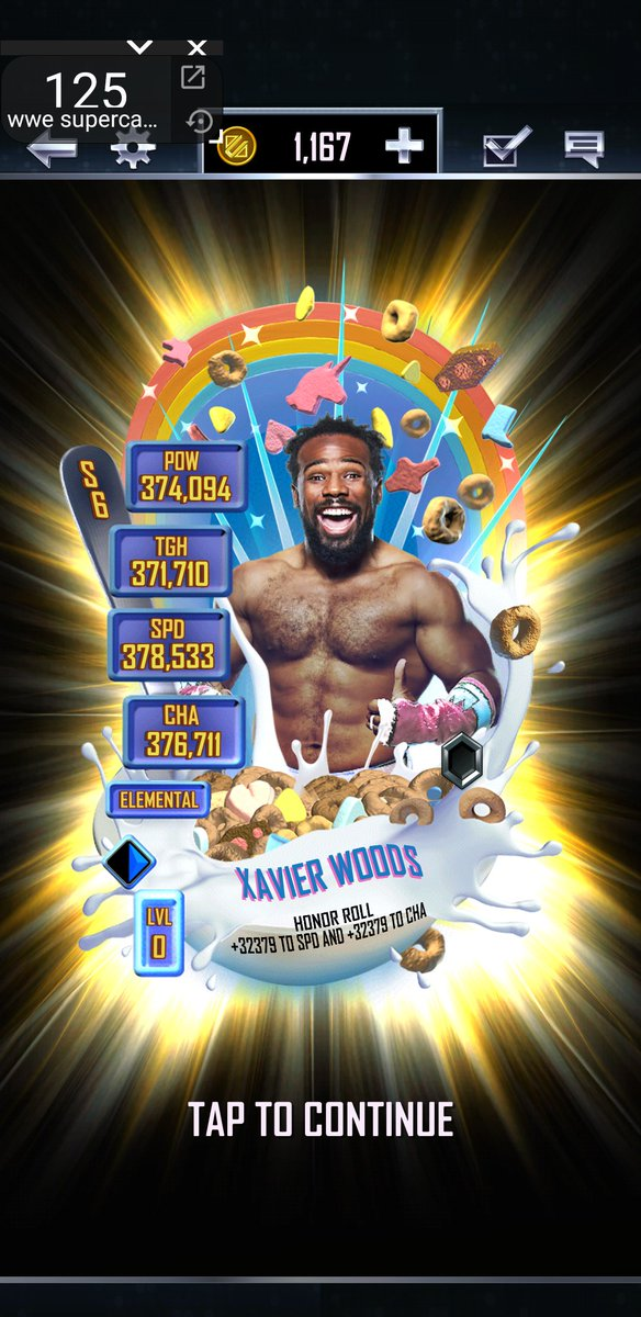 My first elemental fusion and I got a New day one. Quite disappointed as I'll probably never get the Pro #WWESuperCardpic.twitter.com/ov4OvExkQA