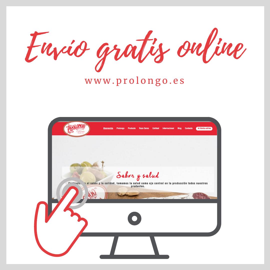 Si te gustan los productos #Prolongo te lo ponemos más fácil que nunca..desde http://www.prolongo.es con ENVÍO GRATIS. #200AñosProlongo #EnvíoGratis @SaboraMálaga #SalchichónProlongo #Embutidospic.twitter.com/mY06m0h1mN