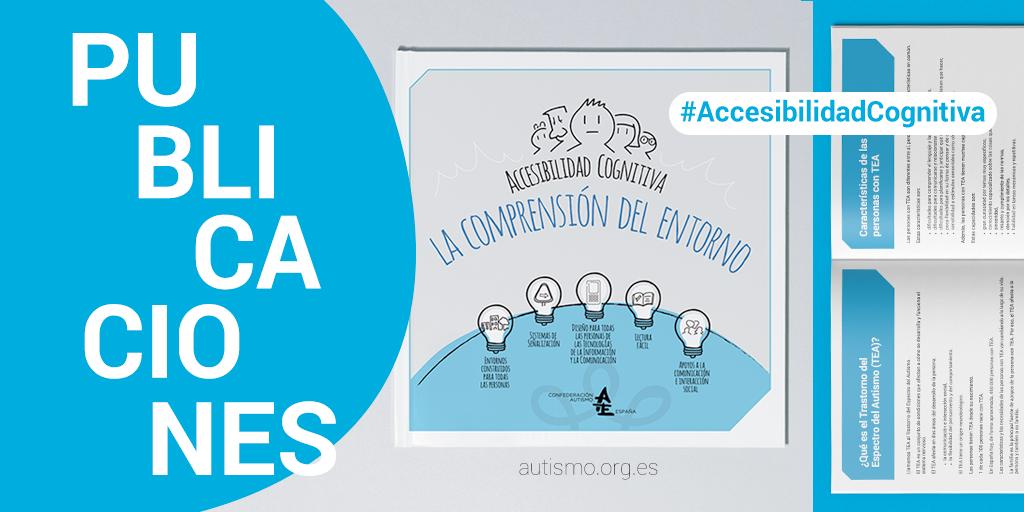Qué importante es facilitar la comprensión del entorno a las personas con #TEA #autismo. Puedes conocer más sobre #accesibilidadcognitiva en nuestra publicación, redactada en #lecturafácil y que puedas descargar de manera gratuita en nuestra web: https://t.co/QclGs6XmHV https://t.co/2jP5YN7Qfo
