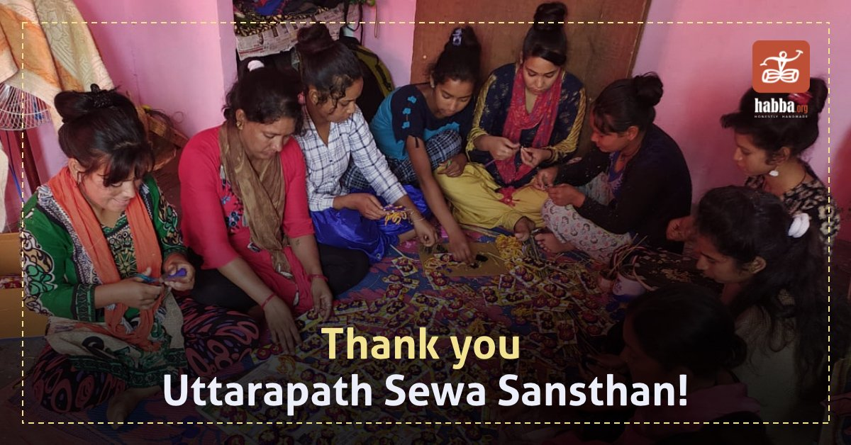 Uttarapath Sewa Sansthan is a grassroots organization based in the state of Uttarakhand that works to conserve and empower marginal communities through enterprise development.   For this initiative, the artisans of USS handcrafted Rakhis made of Ringal. Thank you USS! pic.twitter.com/jAL4PykdXH
