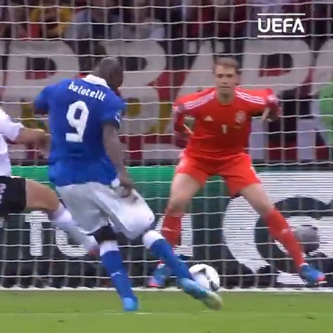 Happy 30th birthday to the enigma that is Mario Balotelli.  Euro 2012 brought out the best in the Italian.