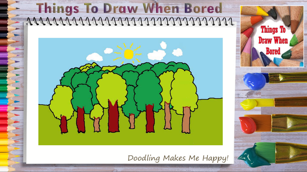 How To Draw Forest Trees ( Things To Draw When Bored - Forest Trees )  *** PLEASE: Share This Link!  *** https://youtu.be/ahAu6pjjXrY  #forest #forests #tree #trees #woods #outdoors #nature #howtodoodle #howtodraw #thingstodraw #cartoon #drawingaday #drawingdaily #drawingeverydaypic.twitter.com/wgnIQqFybV