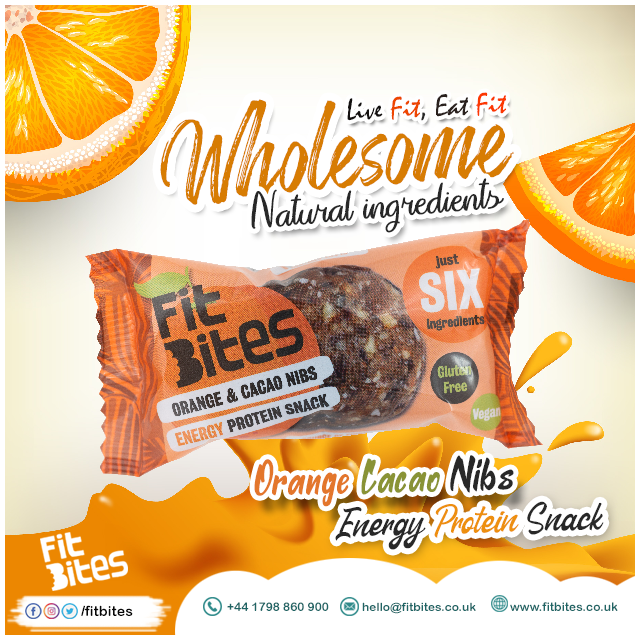 DELICIOUS FRUIT & NUT BALL -ORANGE & CACAO NIBS #FitBites #Energyballs #NaturalSnack #Naturalingredients #Superfoods #Driedfruits #Nuts #Ingredients #Glutenfree #Artisan #onthego #vegan #energy #protein #goodlife #healthyfood Find something special > https://www.fitbites.co.uk/pic.twitter.com/Jm9GsuYgOI