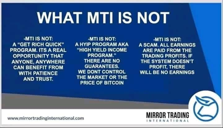 Recently started with #mti and already have growth. DM me if you interested in potential growth of #Bitcoin and MLM business model that is transforming lives https://t.co/eReyiegA0X