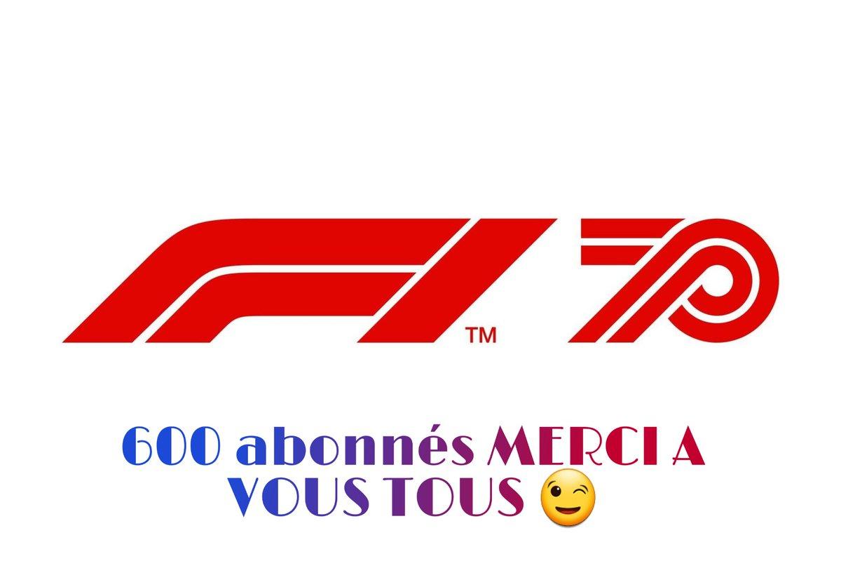 Nous avons atteint les 600 abonnés et comme un symbole nous les atteignons la semaine des 70 ans de la F1 👏  Merci à vous tous 😉 @MercedesAMGF1 #F170 #BritishGP #F1 https://t.co/KNTu1AV4T7