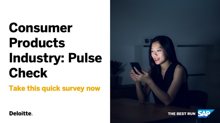 As focus shifts towards recovery, how are you understanding the impact COVID-19 has had on your business?   Take this quick Consumer Industry Pulse Check to assess business health and help navigate the recovery process 👉 https://t.co/rbohd5NUJ9 https://t.co/bPNfLs5eM7