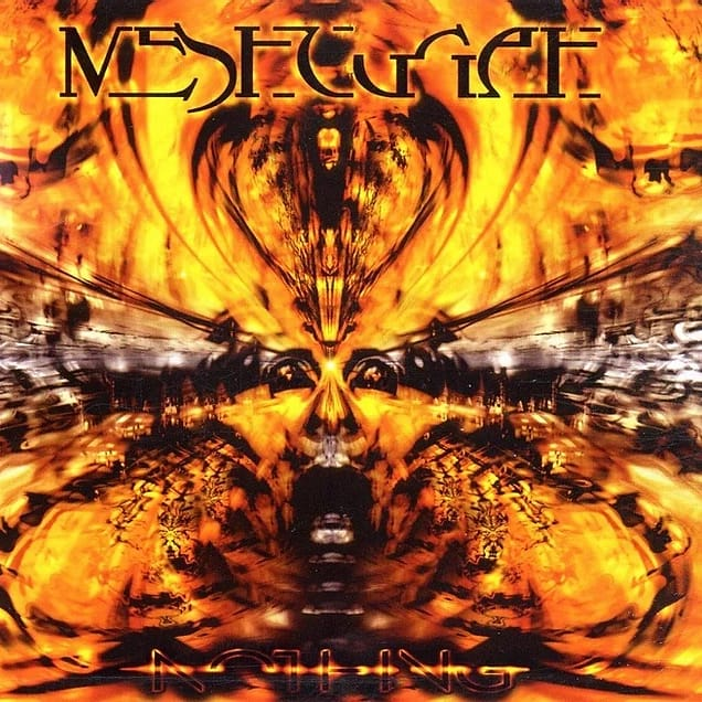 18 YEARS AGO TODAY MESHUGGAH RELEASED THEIR 4TH STUDIO ALBUM 'NOTHING'.  Did you know? A last-minute decision to join 2002's Ozzfest tour forced the band to mix the album in 2 days and master in 1. pic.twitter.com/ozjb4rCH46