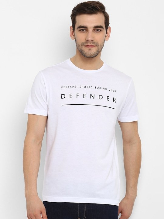 Amazing deal for you!  Red Tape Men White Printed Round Neck T-shirt for just Rs. 389.0 from Myntra  Shop Now! https://ekaro.in/enkr2020080644200741… #India #Indian #photo #photography #photographer #pic #storiesofindia #indianphotography pic.twitter.com/jkGoxmhaFF