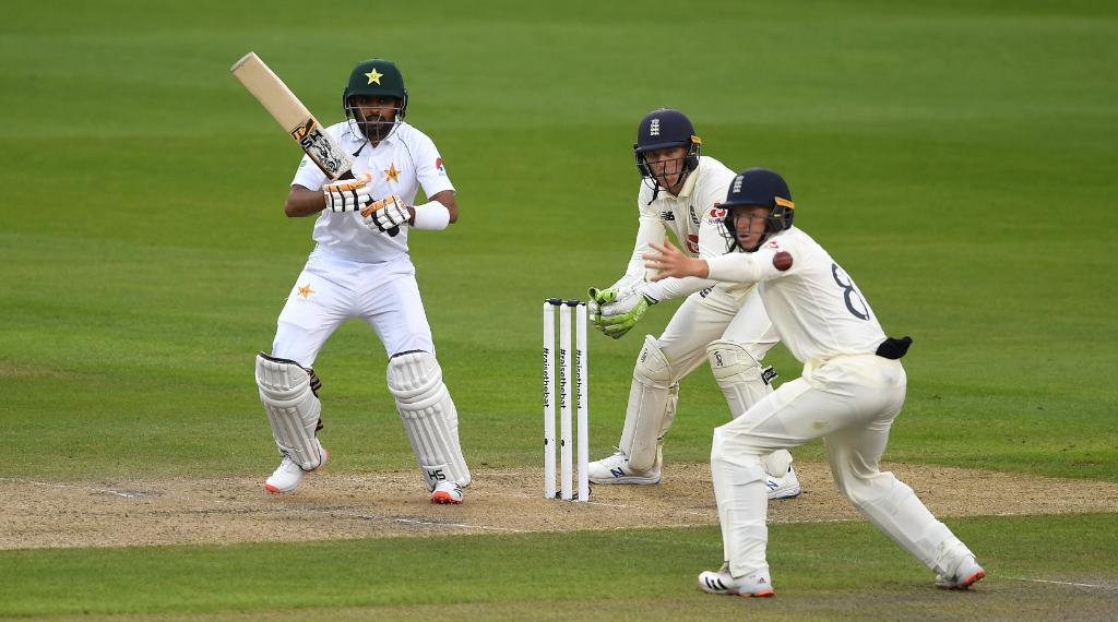Babar Azam Pakistan vs England test