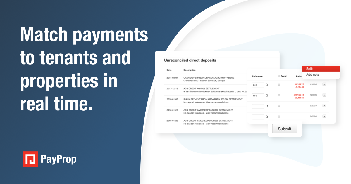 Say goodbye to spreadsheets, highlighters and bank statements. Match payments to the right tenants in a few seconds – no matter how your tenants choose to pay.  Get the PayProp advantage now. https://t.co/PNdqSHoqwE https://t.co/0IQf45pkHp