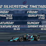 Image for the Tweet beginning: Back at Silverstone! The @FIA_F2
