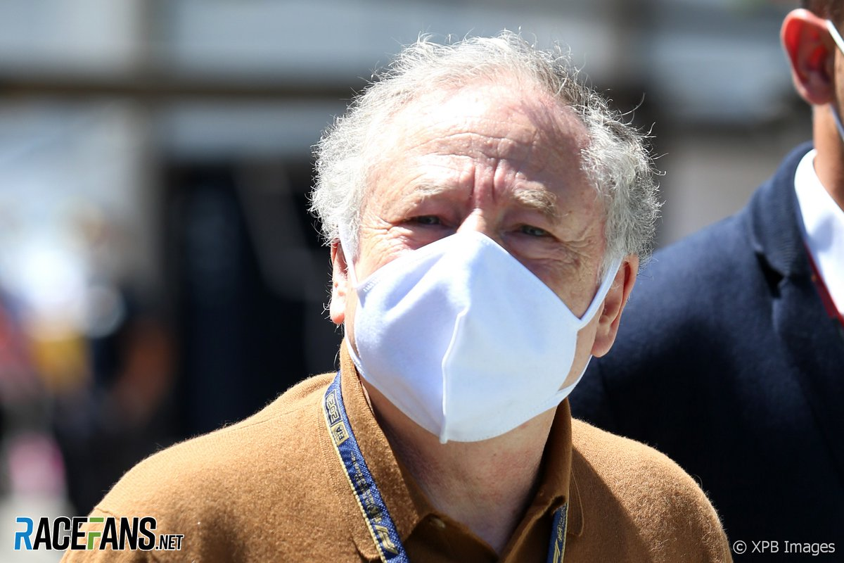 "#2020F1seasonarticles #F1news F1 is a ""global example"" of how to continue life amid pandemic – Todt 