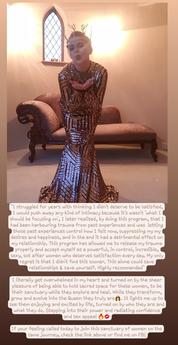 https://bit.ly/ManifestyourQueendom…  #femalearchytypes #thedivinefeminine #femalepower #femaleempowerment #yonipower #kundaliniawakening #creation #rebirth #manifestyourQueedom #limitlessabundance #pleasurepower #selflove #selfworth #selfhealing #selfgrowth #personaldevelopment #selfworthpic.twitter.com/q9JytnaCPc