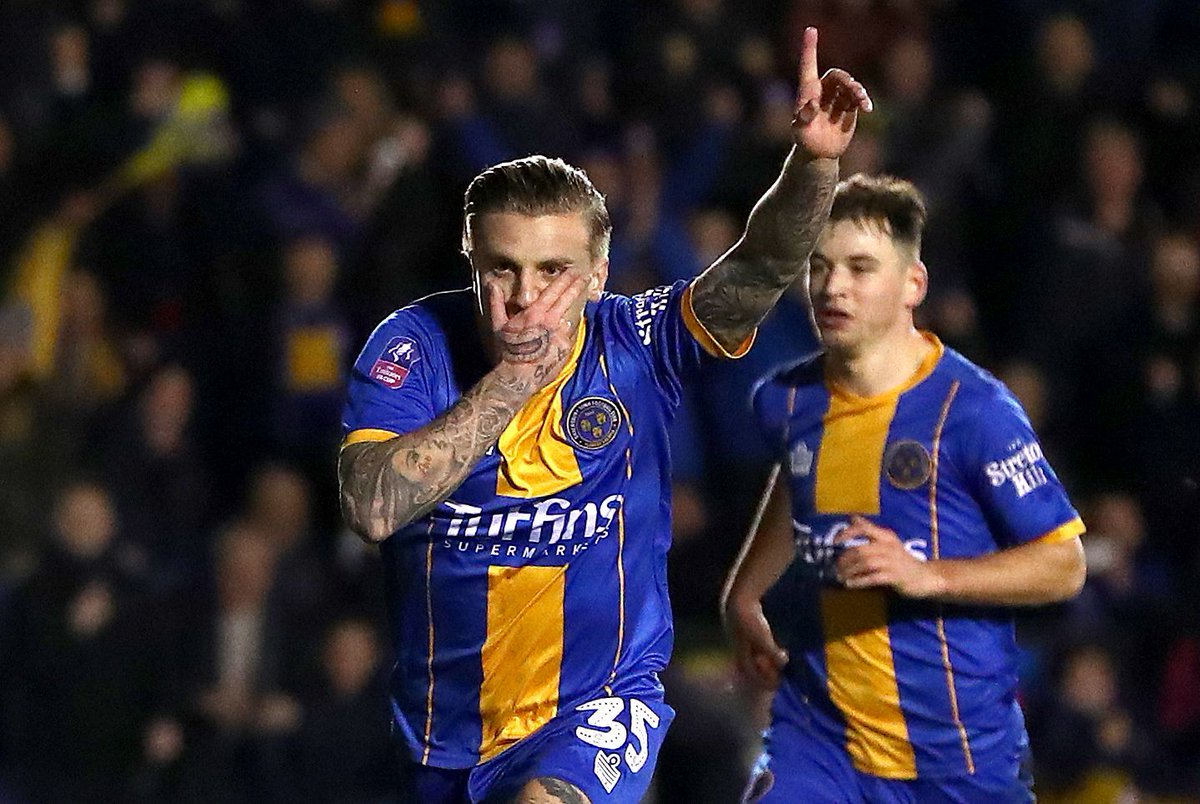 Things got a little crazy as @ShrewsWebs super-sub @JasonCummings35 turned the game around 🆚 Liverpool 🃏