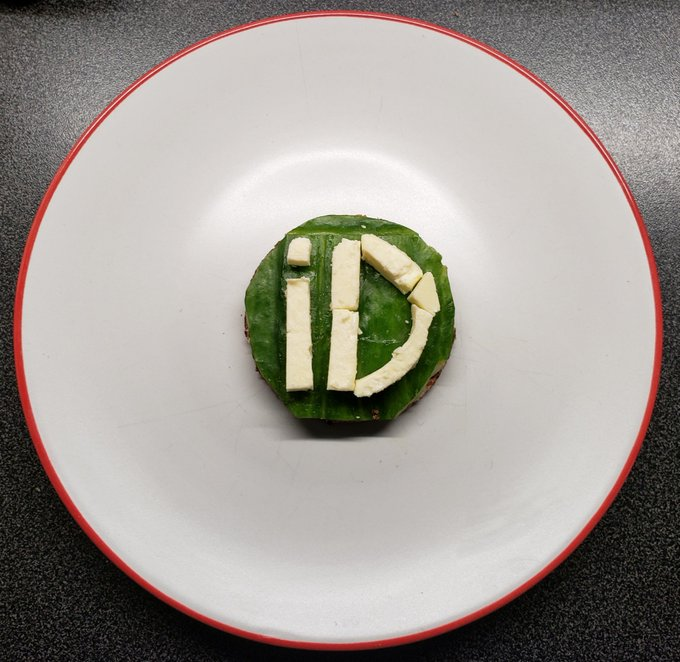 ORCID iD made out of oatcake