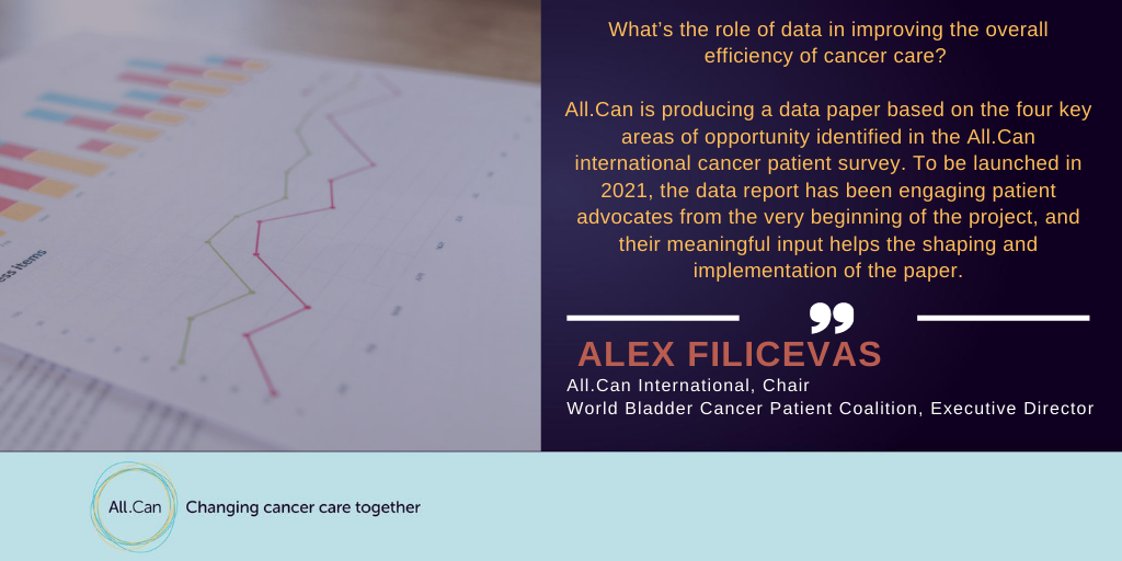 Another example on patient advocacy engagement presented at the @UICC Virtual Master Course on Patient Engagement – the All.Can policy paper on the role of data in driving efficiency in cancer care. @filicevas @KathyOliverIBTA @WorldBladderCan @theIBTA https://t.co/bDVjWzMAsd