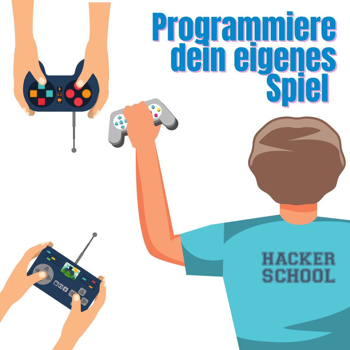 Du findest #Gaming super und willst dein eigenes Spiel programmieren? Kein Problem mit @AxiansDE am 08. & 09. August von 14 bis 18 h. Für alle zwischen 11 und 18 Jahren http://ow.ly/9sd050AOE4S Wir freuen uns auf dich #kidswhocode #DigitaleBildung #femaleempowerment pic.twitter.com/HeEot0XhSP