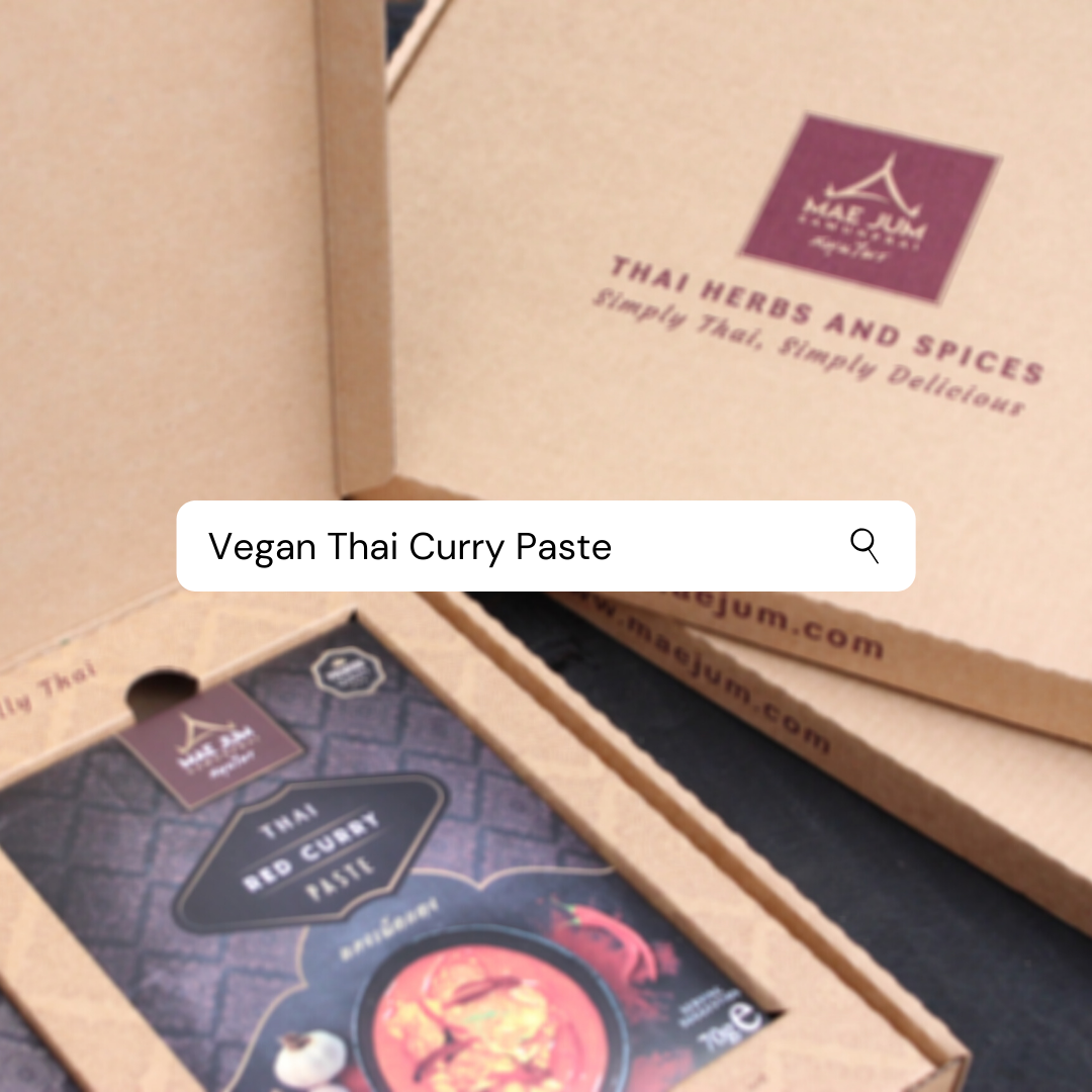 Yes! Our Thai pastes are suitable for our #vegan customers  Possible by using only 100% natural ingredients, best sourced from the south of Thailand http://www.maejum.com   #vegan #vegancurry #veganpastes #veganlife #veganrecipes #foodies #food #naturalingredients pic.twitter.com/Lmu9AjQK9f