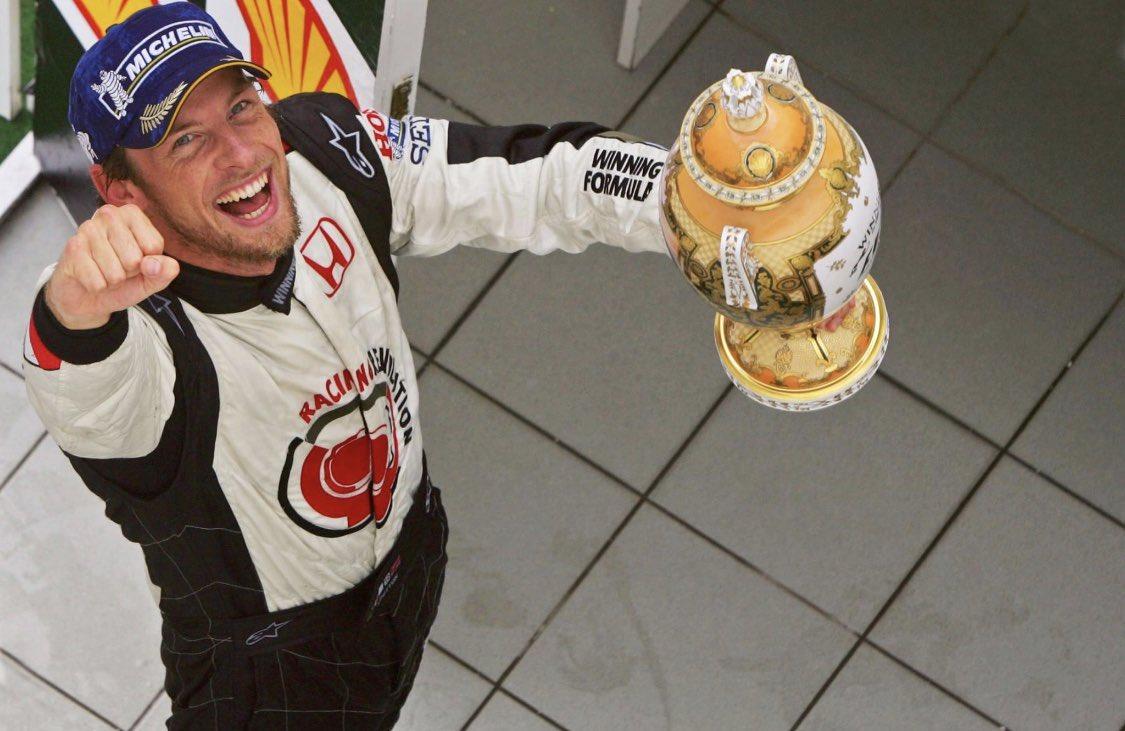 14 years ago today! 113 attempts He finally won his first F1 GP ❤️ @jensonbutton  . . . . #jensonbutton #worldchampion #F1 #formula1 #F12006 https://t.co/E9ATpeuMq8