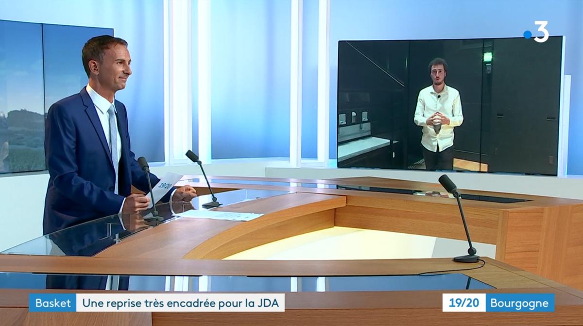 Image for the Tweet beginning: 📺 @F3Bourgogne vous présente les