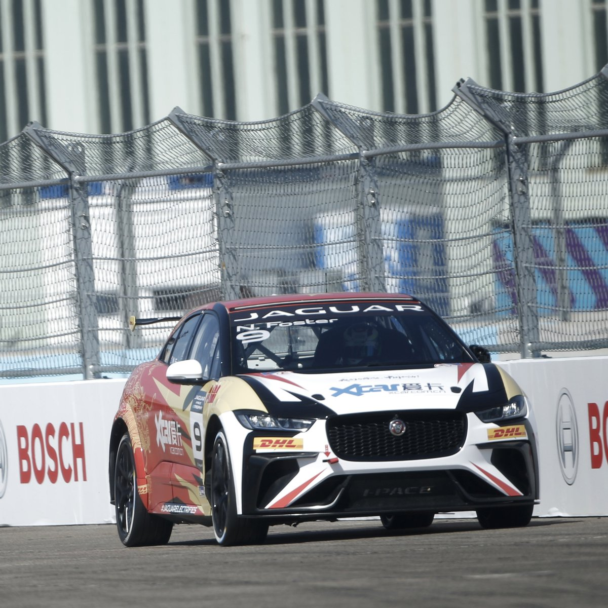Another strong #IPACE #eTROPHY #Qualifying session this morning, as yesterday's winner Caca Bueno once again takes pole position in Berlin.   With @OsergioJimenez in P2 and @NickFoster13 P3, join us LIVE on YouTube for Round 5 from 16.45 CET: https://t.co/ZjxBgALkKa  #BerlinEPrix https://t.co/vOcpCizOpP