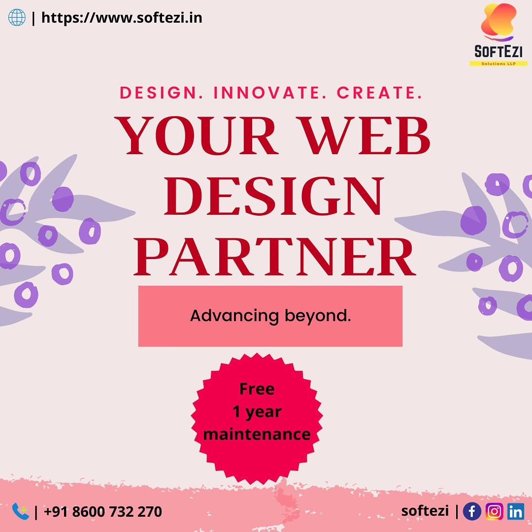 Design. Innovate. Create. #softezi #softezisolutions #softezisolutionsllp #webdevelopment #mobileapplicationdevelopment #digitalmarketing #desktopapplication #ecommerce #erpsolutions https://t.co/PWPzDbbkNd