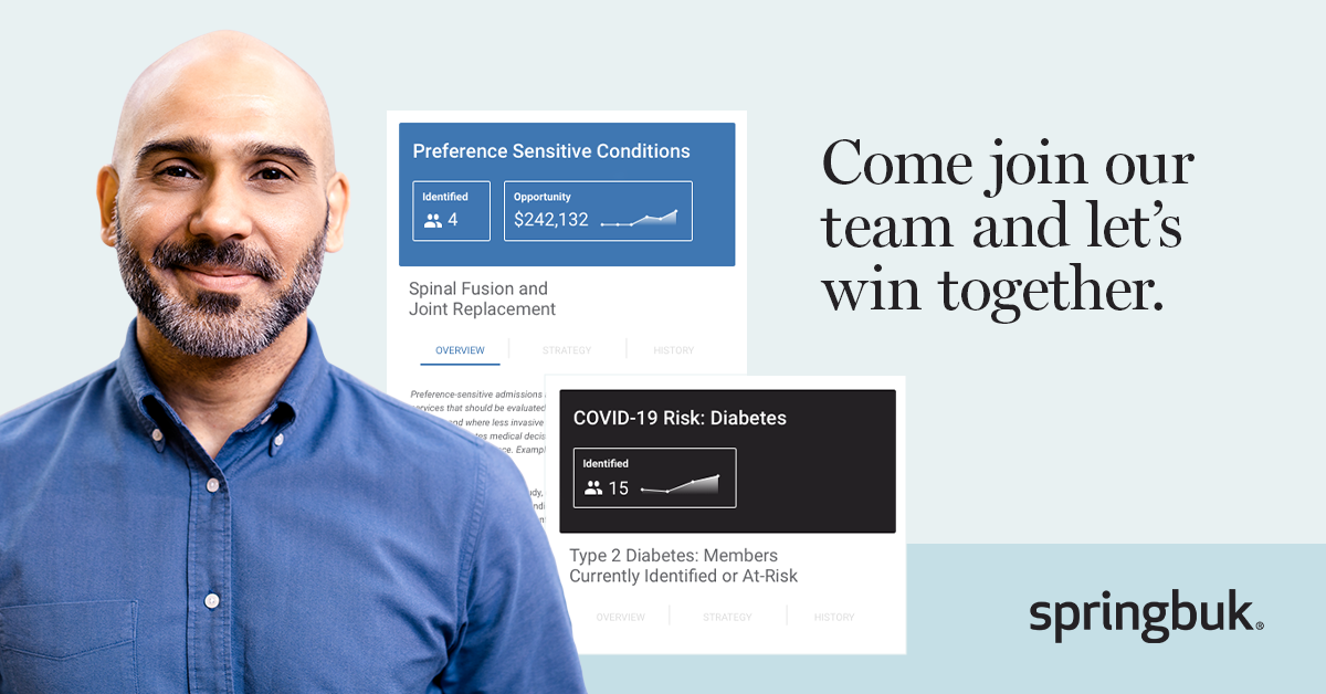 At Springbuk, we're a team of highly driven, self-starters. We're hiring across multiple teams – view our job listings below and let us know why you'd be a great fit with the Springbuk team! https://t.co/8XmMtE3sJ7 https://t.co/RvGC8KZofa