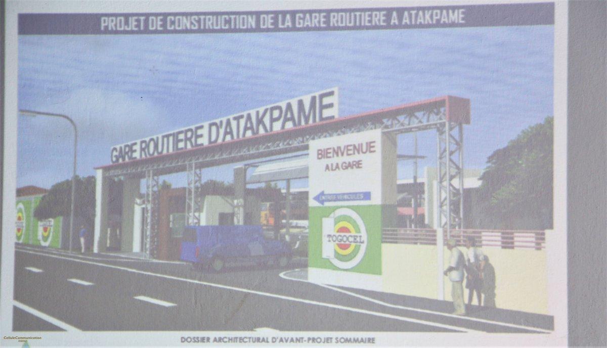 Séance de présentation des esquisses et des plans du projet de construction de la nouvelle gare routière d'Atakpamé aux acteurs communaux.  More details below 👇👇👇👇 https://t.co/J0WREbKGe8  #participationcitoyenne #transport  #atakpame #Togo #UE  #infrastructure  #communeogou1 https://t.co/PhNem5tYpF