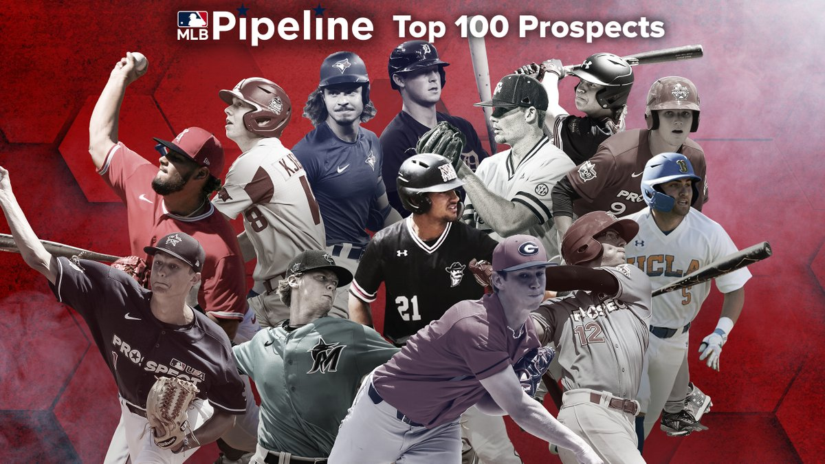 1⃣3⃣ 2020 Draft picks made the new Top 100 Prospects list, and 1⃣0⃣3⃣ were added to team Top 30 lists: https://t.co/tm3kYaSvmD https://t.co/baVImQaFh8