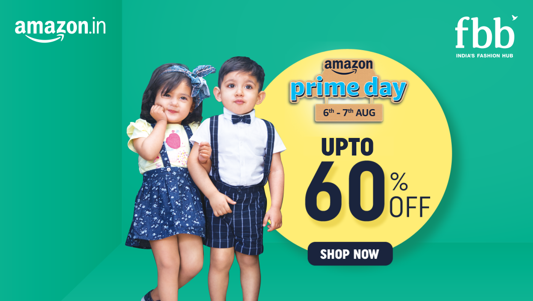 #PrimeDay is here and it's raining unbelievable offers on all your favourite fashion styles from fbb available on https://t.co/K3U56s8oRt! Click here to avail these discounts: https://t.co/VPOMFtfOMW #shopnow https://t.co/yYyYzeiHt0