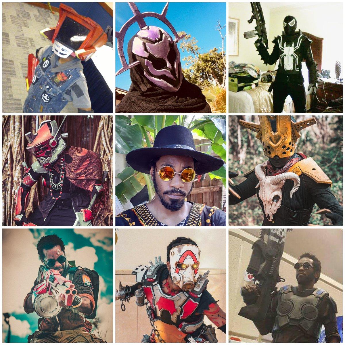 15 years of being creative & 6 years of making Cosplays  #FLCL #SpiderMan #SciFi #Borderlands #GearsOfWar #PropMaker #EvaFoam #faceyourcosplay  #faceyourcospalychallengepic.twitter.com/tSfZM8qKAF