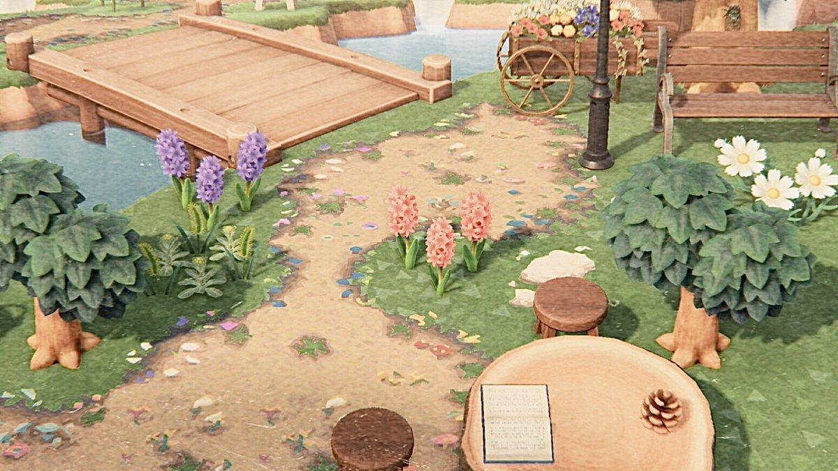 🦋𓂃𓈒𓏸𓐍 新しいエリア作りはじめました 𖥧 ↟花の交配も久しぶりにしてる!早く完成させたいな〜💎✴︎#ACNH #AnimalCrossing #あつ森 #あつまれどうぶつの森