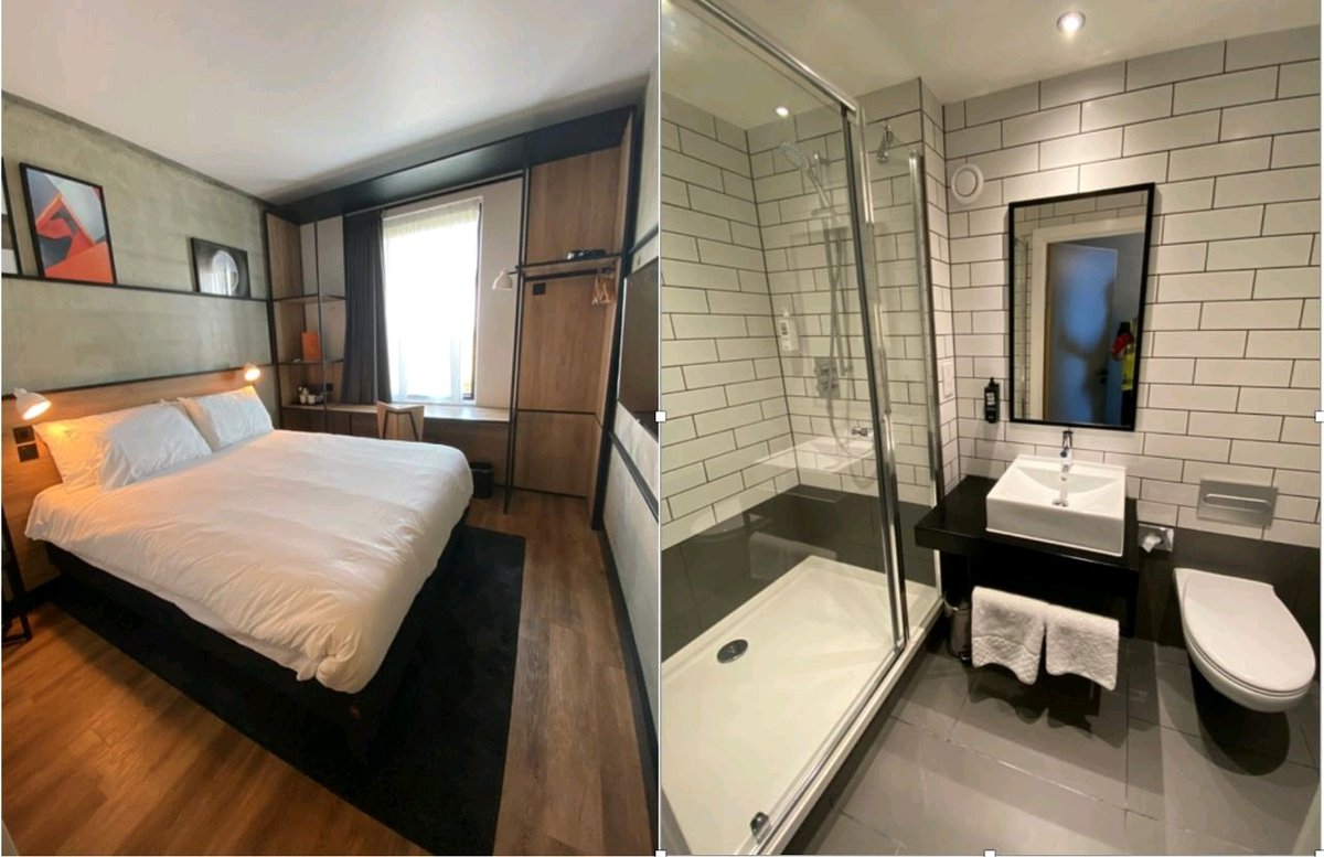 Slight delay but huge team effort, well done @MidasGroupUk. We are thrilled to have completed the @Accor Ibis Plaza sample room of the 144 bedroom hotel at M5 J23. Opening is on schedule for Jan 2021. #hotels #hotelnews #hoteldevelopment #development  #accorhotels #Midasgrouppic.twitter.com/KFdyH94OUG