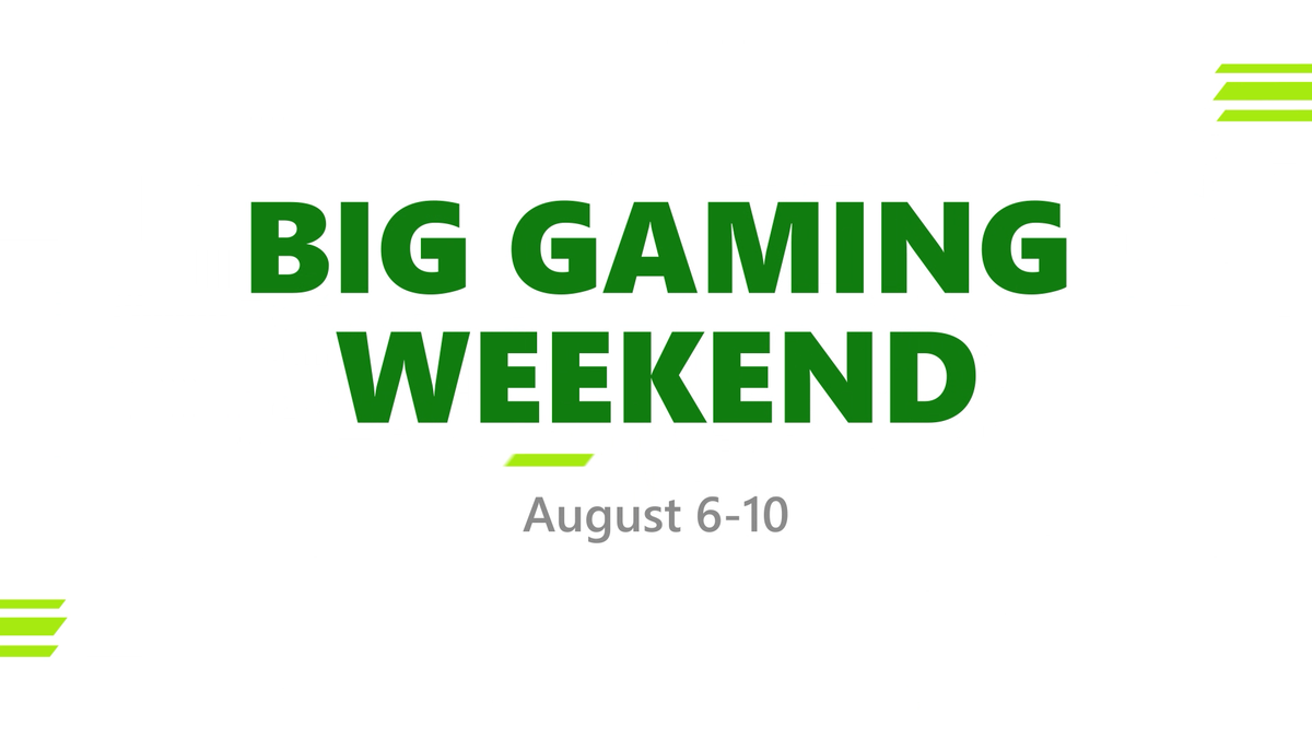 The only rule of Big Gaming Weekend? Everyone plays. That means free access to:  - @Borderlands 3 - DRAGON BALL FighterZ - Select XGP titles like Gears 5 and Ark: Survival - Online multiplayer   for EVERYONE.  Don't miss out: https://t.co/A933XPeuYw https://t.co/hHztGHO2a5