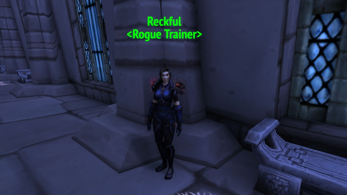 Blizzard has paid tribute to the late Reckful by adding him as a Rogue Trainer NPC in World of Warcraft
